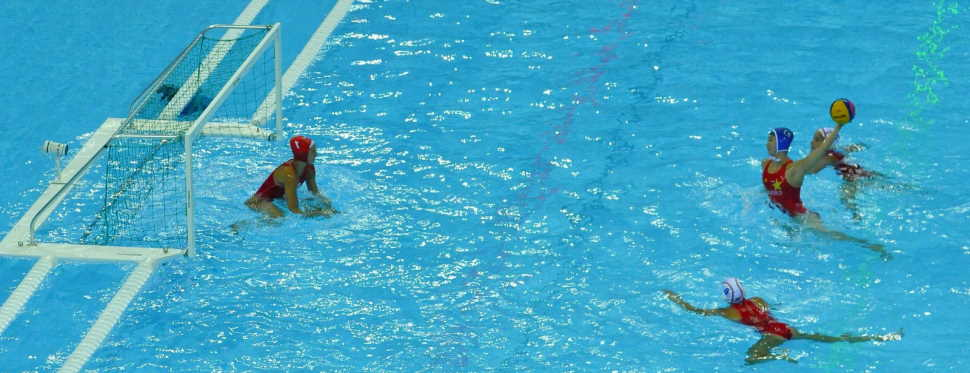 swimming vs water polo